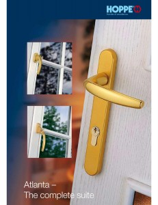Hoppe Door Handles & The Window Dr | Sample brochures
